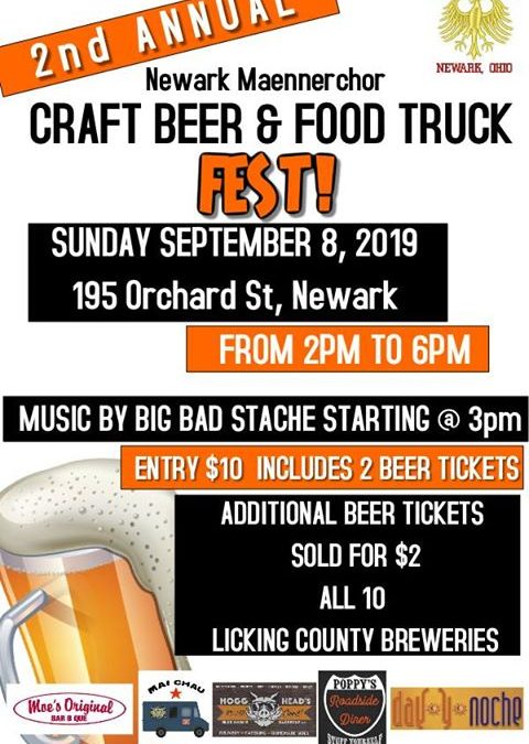 Newark Maennerchor Craft Beer & Food Truck Fest